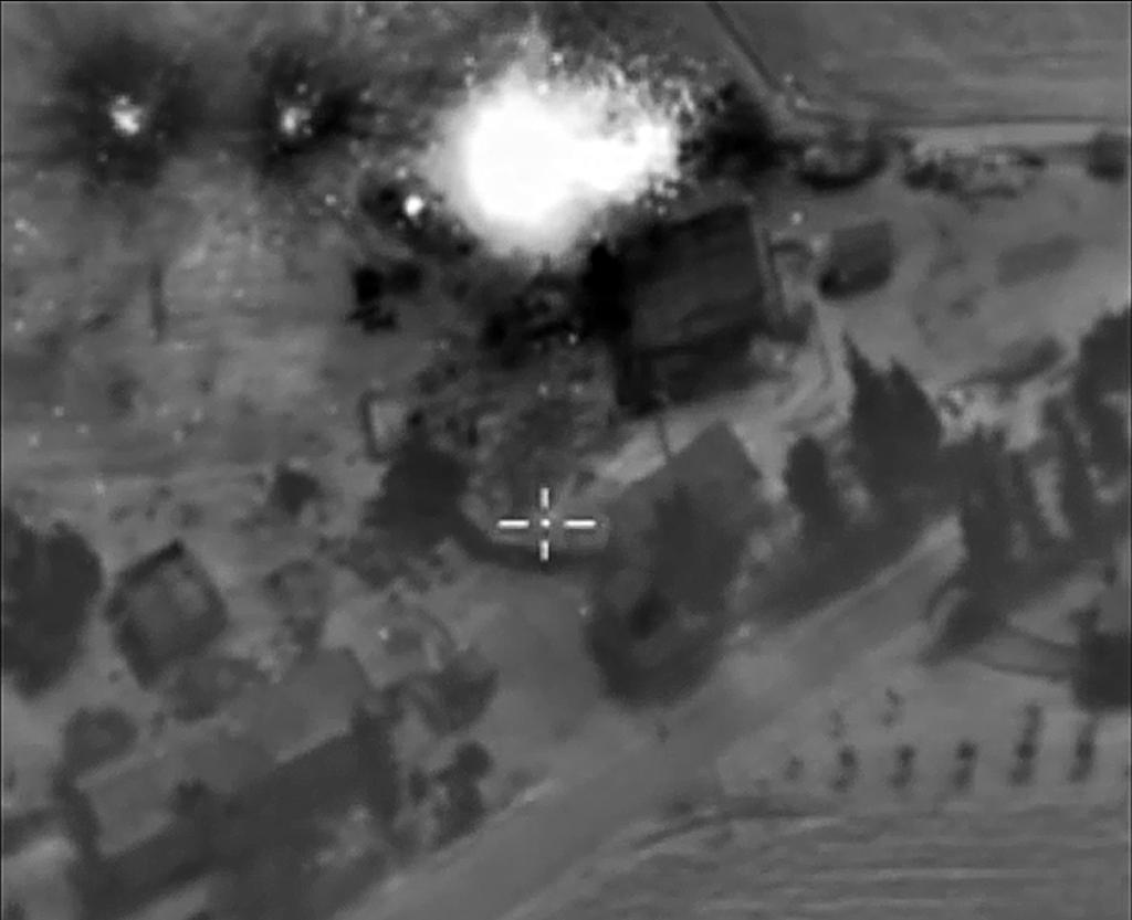 Russian strikes destroy IS command post, other targets in Syria: official