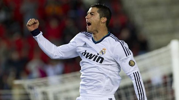 FOOTBALL 2012 Liga Cristiano Ronaldo Real Madrid