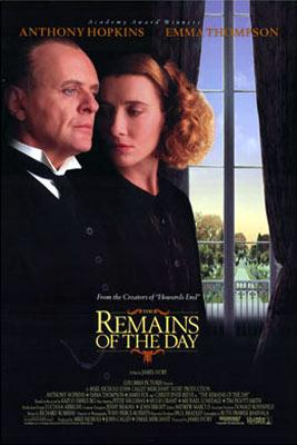 Columbia Pictures' The Remains of the Day
