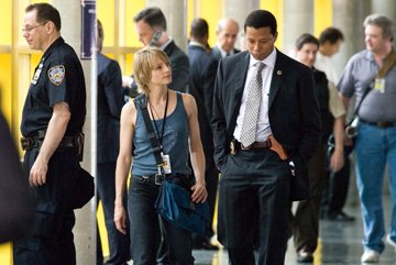 Jodie Foster and Terrence Howard in Warner Bros. Pictures' The Brave One