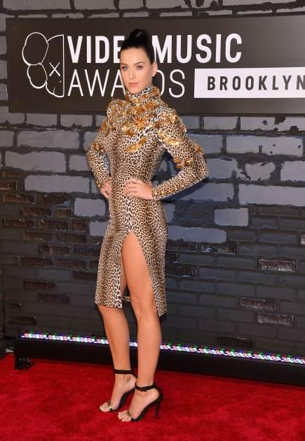 Katy Perry attends the 2013 MTV Video Music Awards at the Barclays Center on August 25, 2013 in the Brooklyn borough of New York City -- Getty Premium
