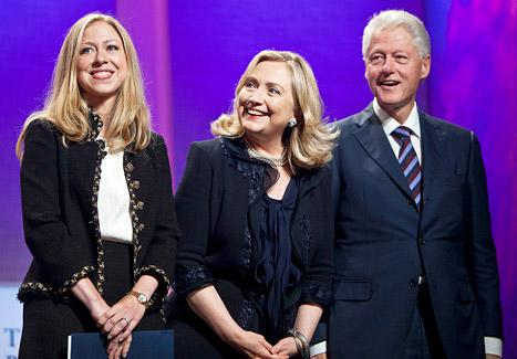 "Chelsea Clinton: Bill and Hillary Give Me ""Unapologetic Pressure"" to Get Pregnant"