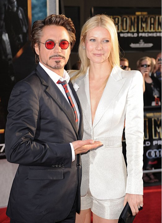 Iron Man 2 LA Premiere 2010 Robert Downey Jr. Gwyneth Paltrow
