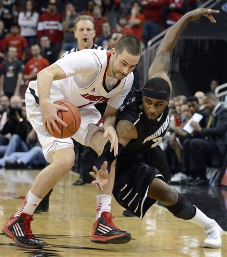 No. 4 Louisville runs past Providence 80-62