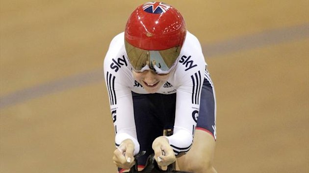 Great Britain's Laura Trott (Reuters)