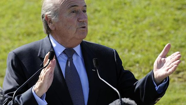 FIFA President Sepp Blatter insists he has a tough stance on racism in football