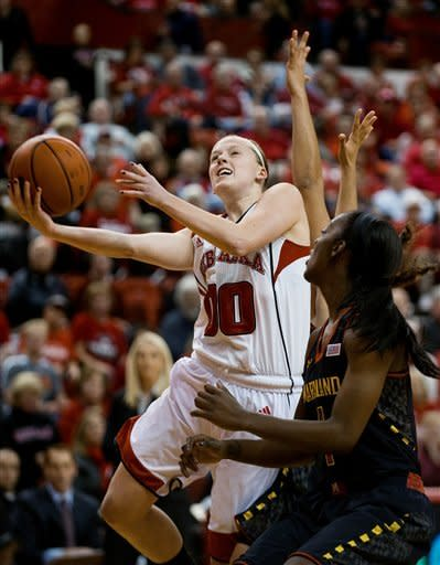 No. 11 Maryland women top No. 21 Nebraska 90-71