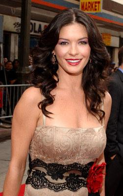 Catherine Zeta Jones at the LA premiere of Columbia Pictures' The Legend of Zorro