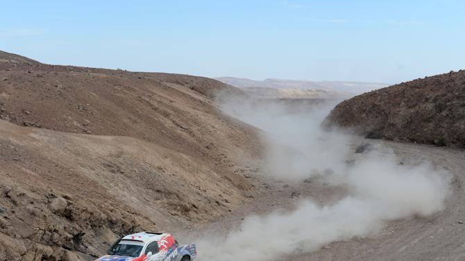 2013 Dakar Rally - Day Five