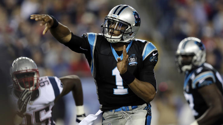 Cam Newton says there is 'no doubt' he'll be starting Week 1 fo…