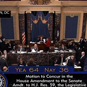 Senate passes budget deal, heads to President