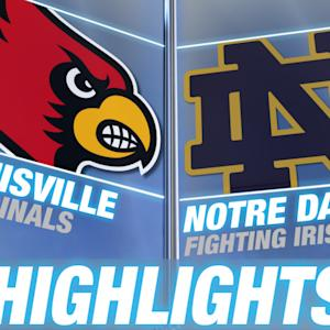 Louisville vs Notre Dame | 2014-15 ACC Women's Basketball Highlights