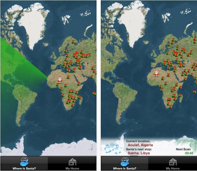 Where is Santa Lite - Santa Tracker