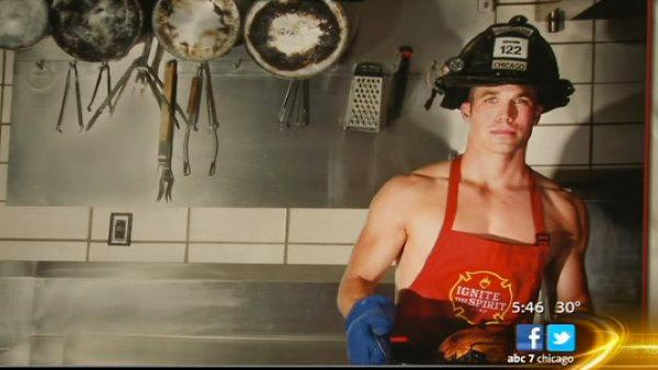 Chicago Fire Department's Ignite the Spirit Calendar