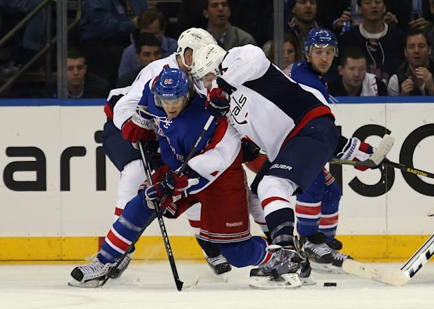 Washington Capitals v New York Rangers - Game Four