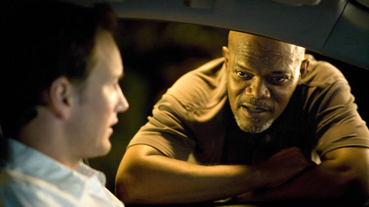 Samuel L. Jackson Patrick Wilson Lakeview Terrace Production Stills Screen Gems 2008
