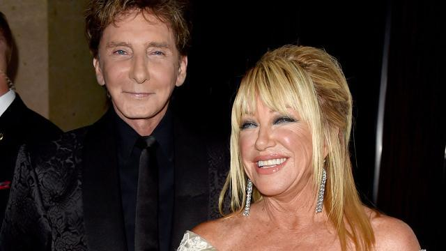 Suzanne Somers Confirms Barry Manilow's Marriage, Says It Was 'Freeing' for Him