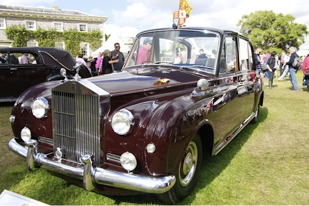 goodwood 1961 rolls