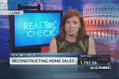 Deconstructing home sales
