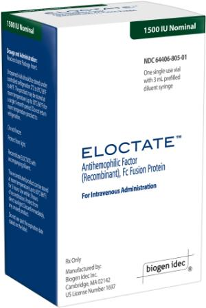 FDA Approves Biogen Idec's ELOCTATE™, First Hemophilia A Therapy to Extend the Interval between Prophylactic Infusions, for Both Adults and Children