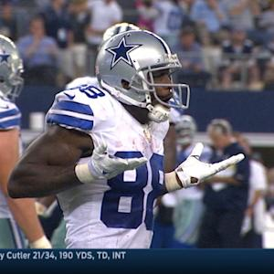Dez does the MJ shrug
