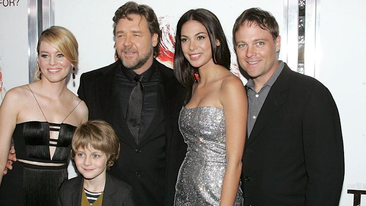 The Next Three Days 2010 NY Premiere Elizabeth Banks Ty Simpkins Russell Crowe Moran Atias Michael Buie