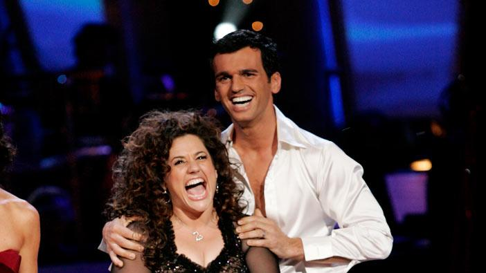Marissa Jaret Winokur and her professional partner Tony Dovolani, are the sixth couple to be eliminated from the 6th season of Dancing with the Stars.