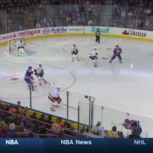 Pekka Rinne Save on Martin Marincin (00:37/1st)