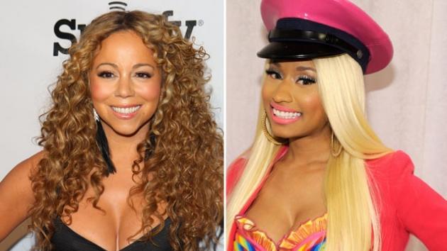 Mariah Carey / Nicki Minaj -- Getty Images