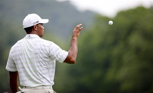 Tiger Woods misses cut at Greenbrier
