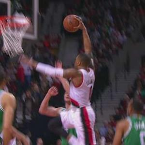 Lillard Throws It Down