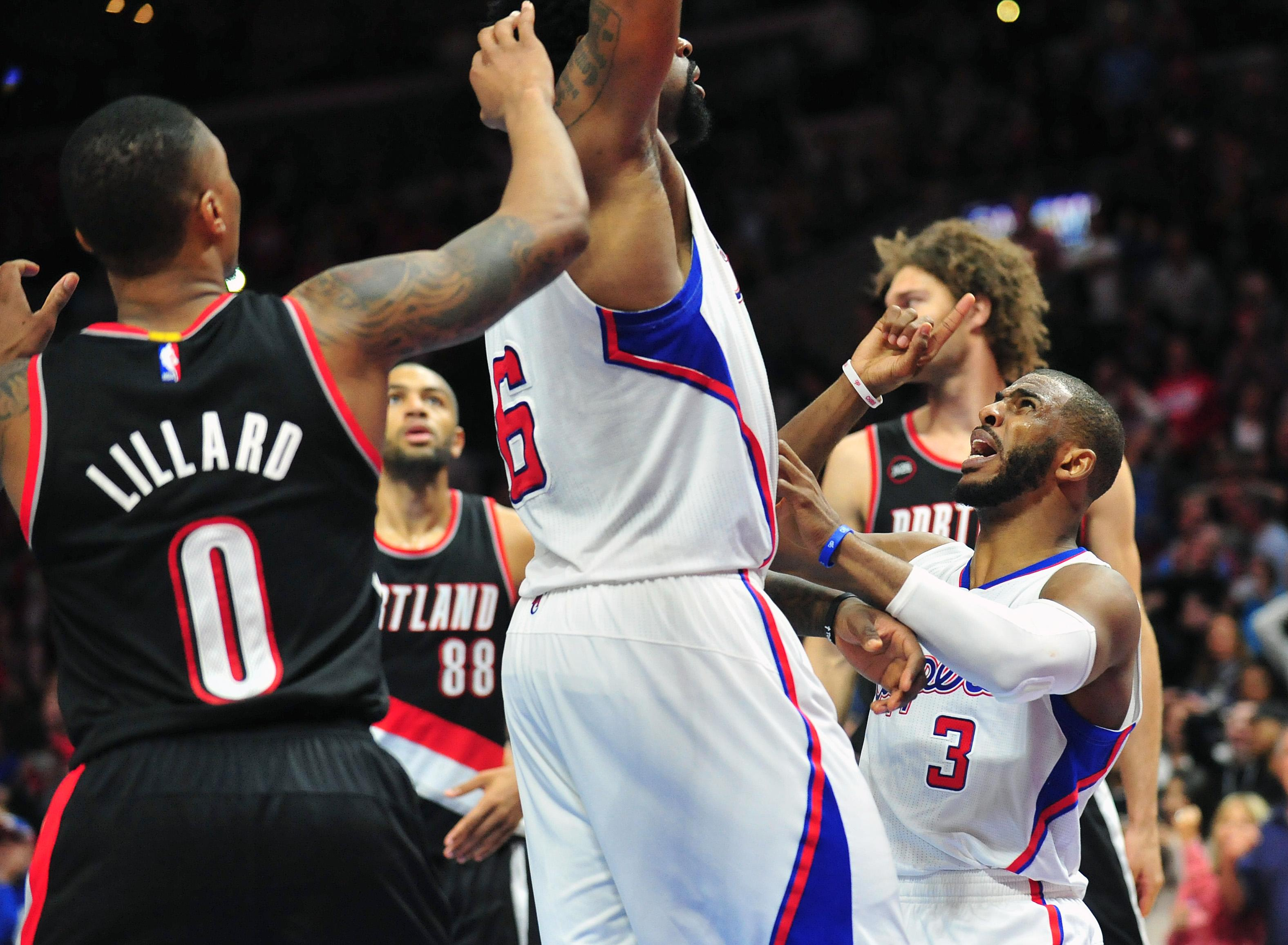 CP3 goes nuts as DeAndre doesn't shoot, Clippers lose to Blazers in OT
