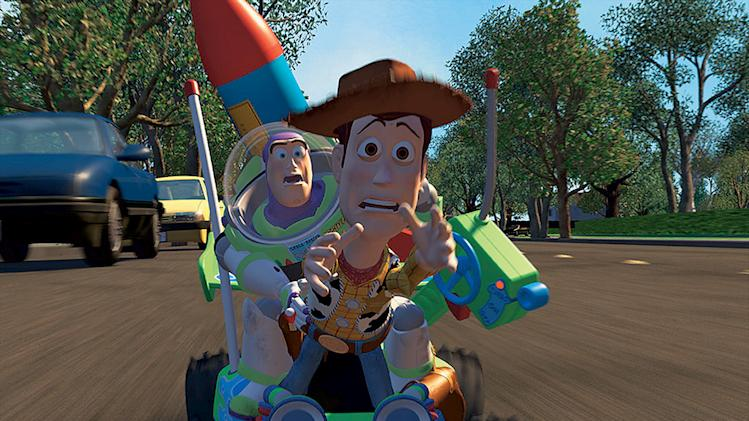 Toy Story Production Stills Walt Disney Pixar 1995