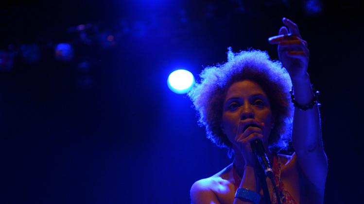 Sundance London - MUSIC EVENT: Tricky performing 'Maxinquaye' With Martina Topley Bird at IndigO2