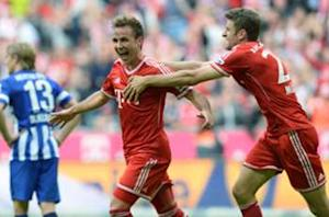 Gotze: I knew I'd settle in at Bayern