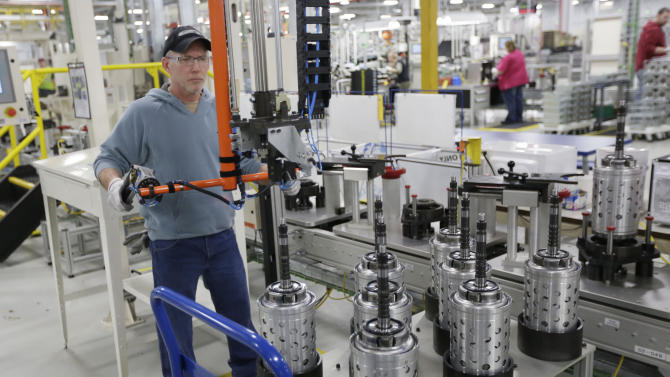Strong auto output boosts US factory production