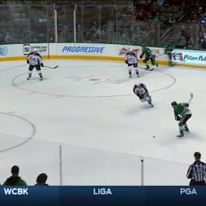 Semyon Varlamov Save on Alex Goligoski (16:44/3rd)