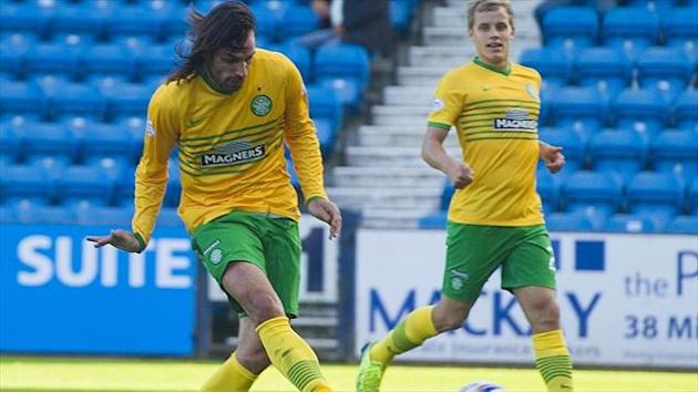 Football - Celtic ready for Barca - Samaras