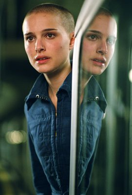 Natalie Portman as Evey in Warner Bros. Pictures' V for Vendetta