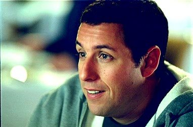 Adam Sandler as Longfellow Deeds in Columbia's Mr. Deeds