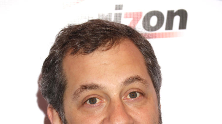 Judd Apatow attends the 13th Annual AFI Awards Luncheon at the Four Seasons Hotel Los Angeles at Beverly Hills on Friday, January 11, 2013 in Los Angeles. (Photo by Todd Williamson/Invision/AP)