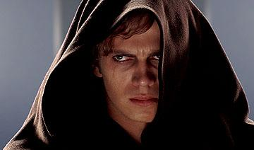 Hayden Christensen as Darth Vader in 20th Century Fox's Star Wars: Episode III