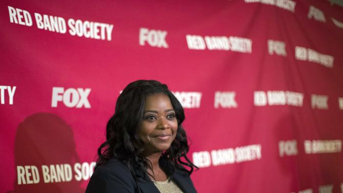 "File photo of cast member Spencer at the premiere of the television movie ""Red Band Society"" at the Landmark theatre in Los Angeles"