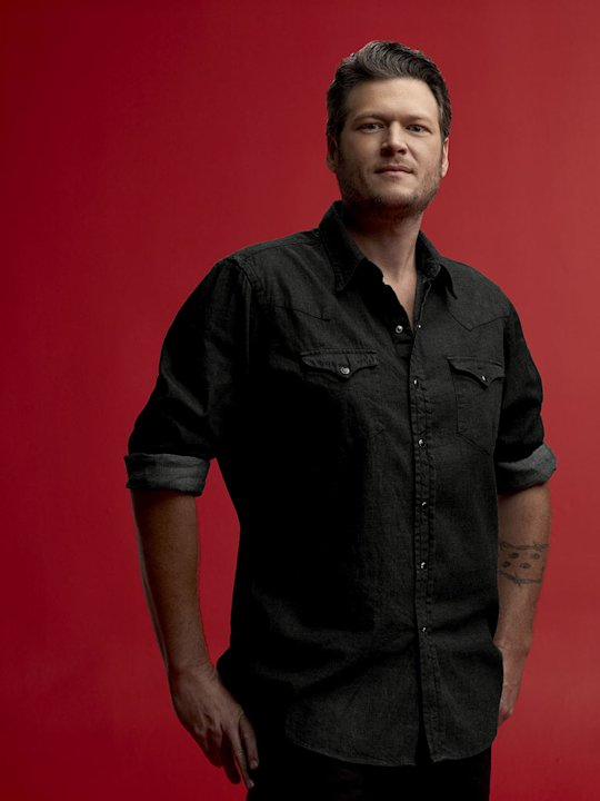 """The Voice"" judge Blake Shelton"