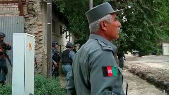 Shootout at U.N. compound in Afghan capital