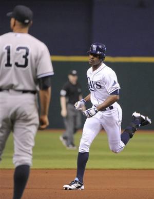 Teixeira's error helps Rays beat Yankees