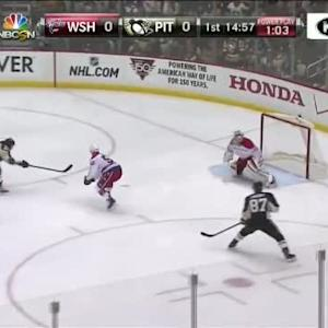 Braden Holtby Save on Andrew Ebbett (05:05/1st)
