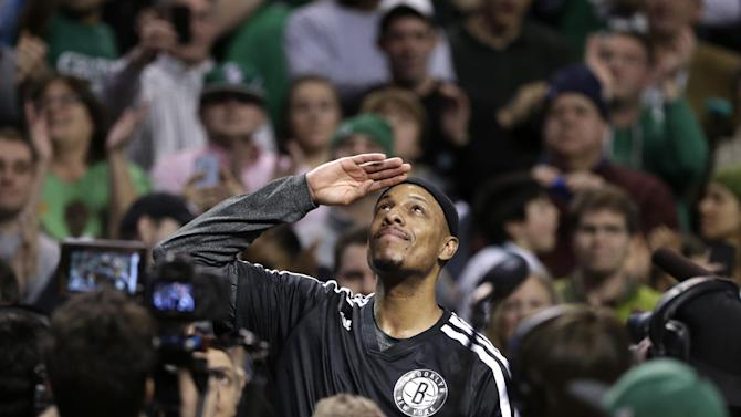 Nets top Celtics 85-79 as Pierce, Garnett return