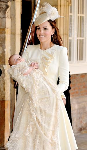 Kate Middleton's Alexander McQueen Outfit for Prince George's Christening: All the Details!