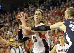 Olynyk, Harris lead No. 10 Gonzaga past BYU, 83-63